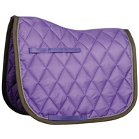 Harry's Horse Full Size Dressage Saddle Pad - Lilac/grey