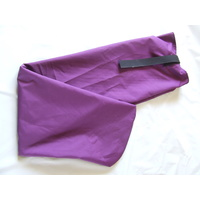Ecotak Showerproof Rugless Tail Bag - Plum pony size
