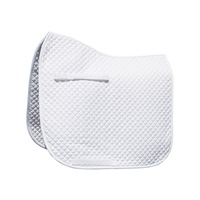 Harry's Horse Delux shetland Size Dressage Saddle Pad - White
