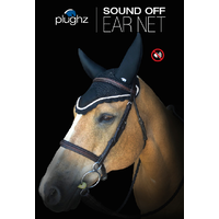 Plughz Sound off Soundproof Ear Bonnet - Full Navy Blue