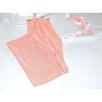 Ecotak Lycra Rugless Tie in Tail Bag - Orange Stripe SHETLAND