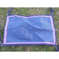 Ecotak Gate/Stall/yard/stable guard - Navy blue & purple