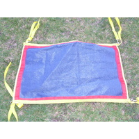 Ecotak Gate/stable/stall/yard guard - Navy blue, yellow & red