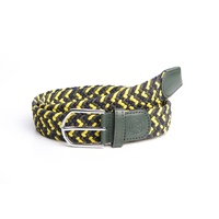 Harry's Horse Su19 stretchy elastic belt - thyme.