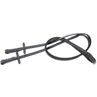 Harry's Horse Ultra Grip Black Reins - Full