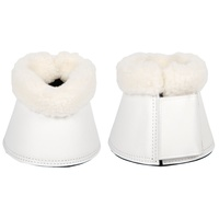 Harry's Horse Flextrainer Over Reach Bell Boots - White