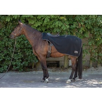 Harry's Horse Fleece Quarter/Exercise Sheet - Black
