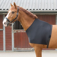 Harry's Horse Lycra Chest Protector Bib - Black