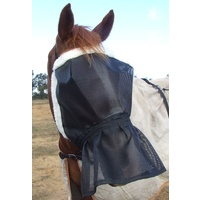 Ecotak DELUX fleece lined fly mask with nose skirt