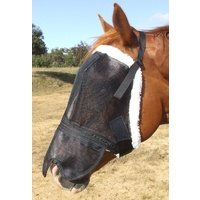 Ecotak Deluxe Fleece Fly Mask with contoured noseflap
