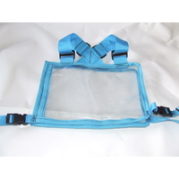 Ecotak Cross Country/Endurance Back Number Holder - Aqua