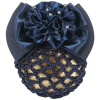 Harry's Horse Hair Clip - Navy Flower