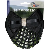 Harry's Horse Hair Clip - Black Strass.