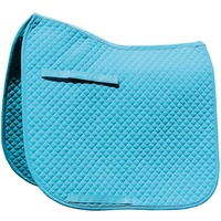 Harry's Horse Delux Full Size Dressage Saddle Pad - Turquoise