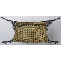 Hay Net Slow Feeder Deluxe - Black Medium
