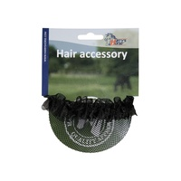 Harry's Horse Hair Net Bun Cover - Black