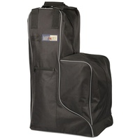 Harry's Horse Black Tall Boot & Helmet Bag.