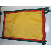 Ecotak Gate/stable/stall/yard guard Yellow & Red & Bottle Green