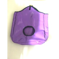 Ecotak PVC Hay Bag - purple/navy