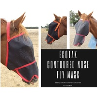 Ecotak Fly Mask/Veil with Contoured Nose Flap