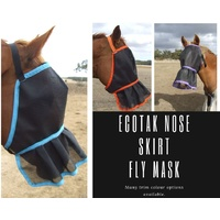 Ecotak fly Mask/Veil with Nose Skirt Frill