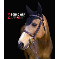 Plughz Sound off 2 Sound proof Ear Bonnet Black PONY