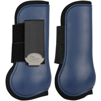 Harry's Horse Open front Tendon Boots - Navy Shetland