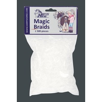 Harry's Horse Transparent Magic Braid plaiting bands.