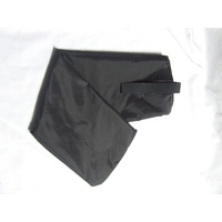 Ecotak Showerproof Rugless Tail Bag - black showerproof