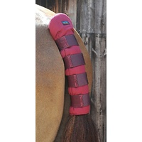Premier Equine Stay Up Horse Tail Guard - burgundy
