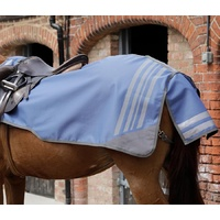 PEI Premier Equine Stratus Powder Blue Quarter Sheet/Exercise Rug - Medium