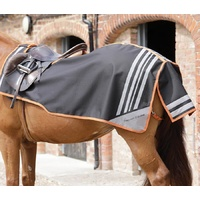 PEI Premier Equine Stratus Black Quarter Sheet/Exercise Rug - Large