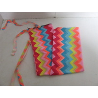 Ecotak Lycra Rugless Tail Bag - Bright zigzag cob