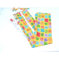 Ecotak Lycra Rugless Tail Bag - yellow flower full