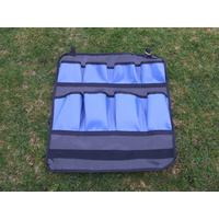 Ecotak Royal blue & black PVC stable organiser