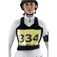 Premier Equine Neoprene Adjustable Cross Country Number Holder/Bib