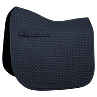 Harry's Horse Delux Full Size Dressage Saddle Pad - Navy
