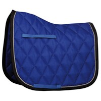 Harry's Horse Next Full Size Dressage Saddle Pad - cobalt/black