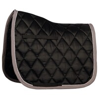 Harry's Horse Next Full Size Dressage Saddle Pad - Black/grey