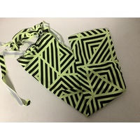 Ecotak Lycra Rugless Tail Bag - Geometric small pony