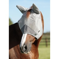 Premier Equine PEI Buster Fly Mask Standard Plus with ears.