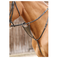 Premier Equine Rosello Bib Martingale - Full Dark Brown