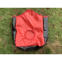Ecotak PVC Hay Bag - red & black
