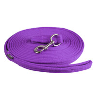QHP Lunge Line Rein in Bag - Passion flower purple