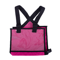 QHP cross country number bib/holder - pink