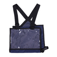 QHP cross country number bib/holder - navy blue
