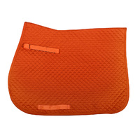 QHP color saddle pad- orange full all purpose