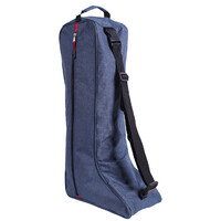 QHP horse riding boot bag - blue