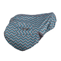 QHP Waterproof Saddle Cover - ZigZag