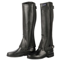 Harry's Horse Connect Half Chaps/Gaiters Black - Size L